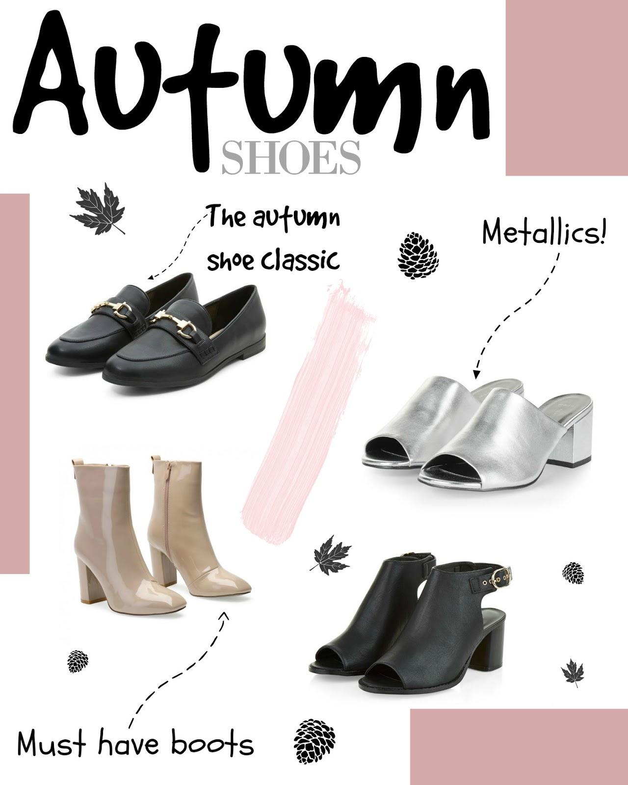 The Autumn Shoe Edit
