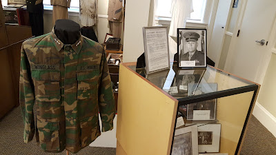 an exhibit about Franklin's own 3-star general is available near the entrance to the main room of the Historical Museum
