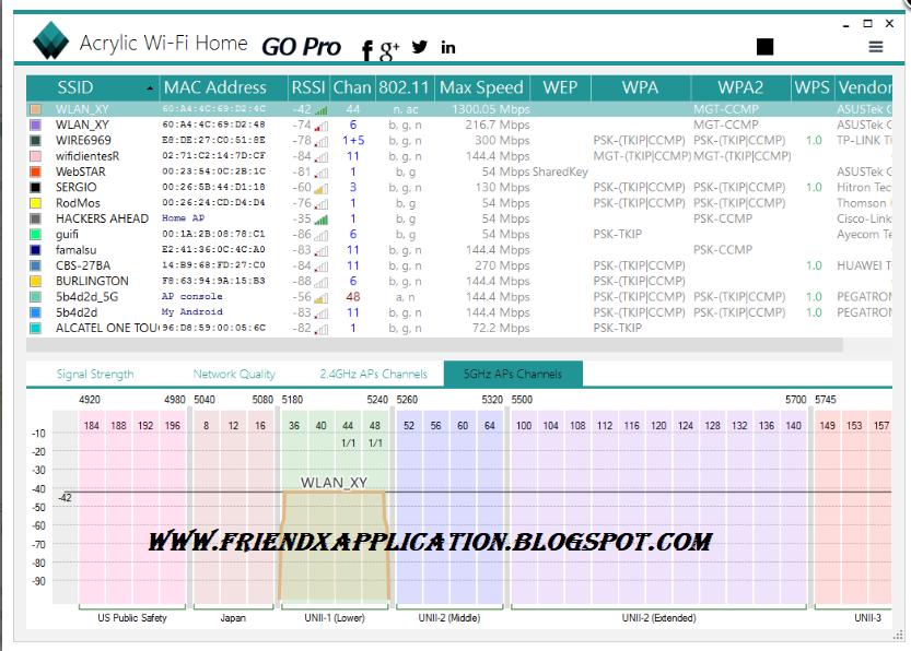 Free Wifi Scanner + hack the default PTCL password - Friends