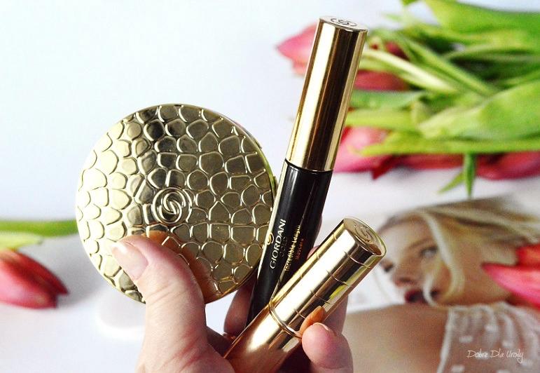 Makijaż Oriflame Giordani Gold kosmetyki do makijażu recenzja