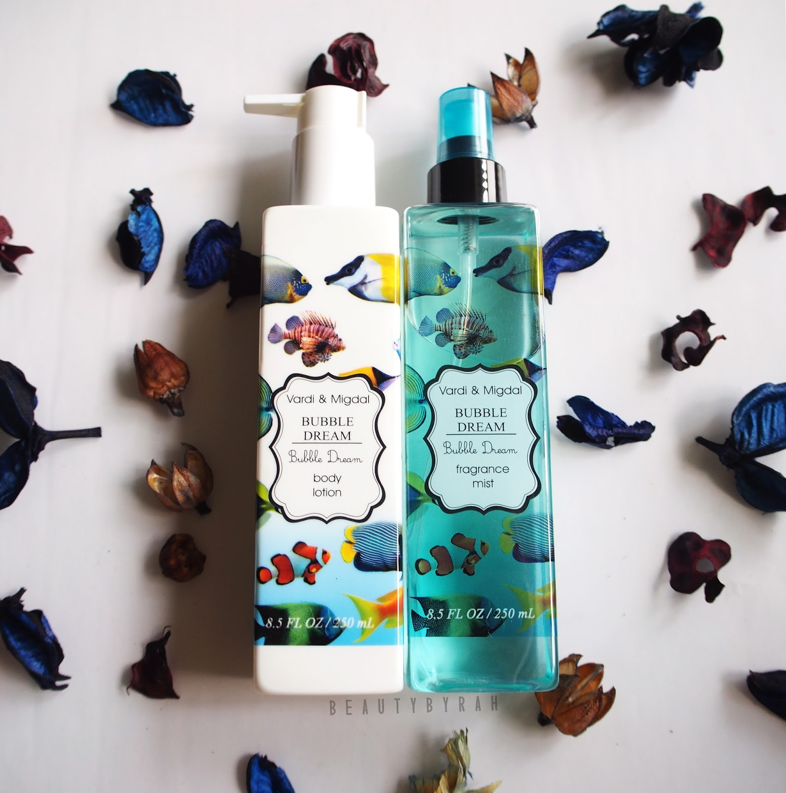 Vardi & Midgal Body Care Bubble Dream Body Lotion and Fragrance Mist Review