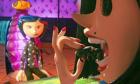 Eating a mouse Coraline 2009 animatedfilmreviews.filminspector.com