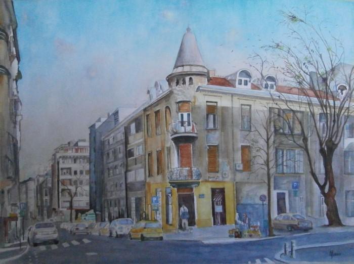 Сербский художник. Zoran Mihajlovic Muza