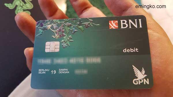 Kartu Debit GPN BNI Tidak Bisa Request VCN