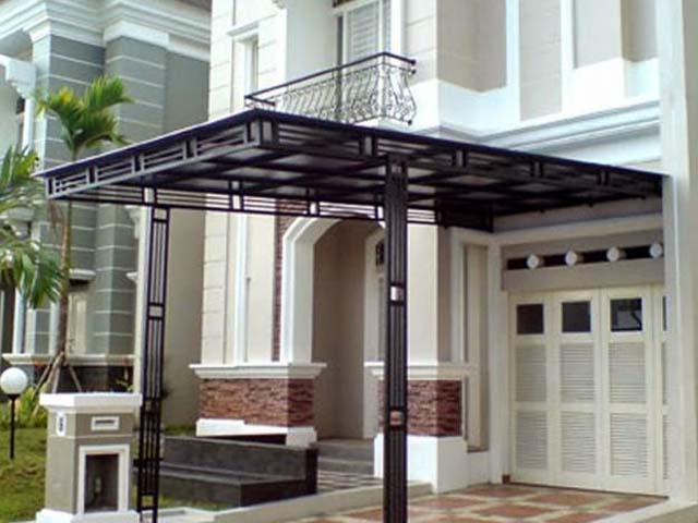 awning dari baja ringan model canopy untuk rumah minimalis terbaru   design ...