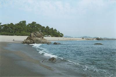 Katsurahama Beach, Kochi, Shikoku, Japan