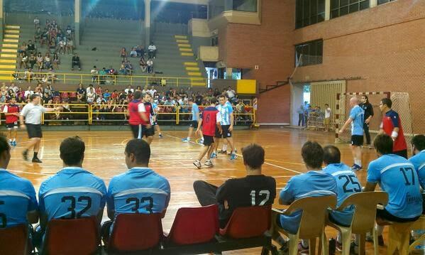 Primer día de amistosos ARG-URU | Mundo Handball