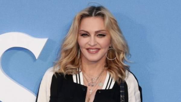 La cantante Madonna (Septiembre 2016)