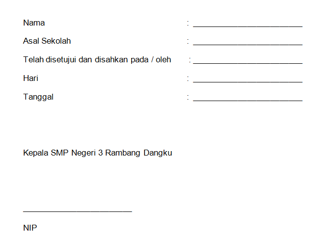 gambar halaman pengesahan laporan best practice
