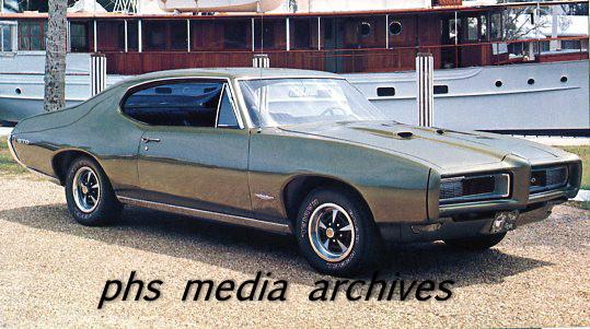 phscollectorcarworld: ghost cars: 1968 Pontiac GTO Ram Air II