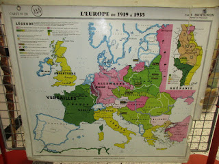 Carte de l'Europe après 1918
