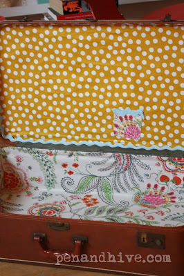 old suitcase upcycle