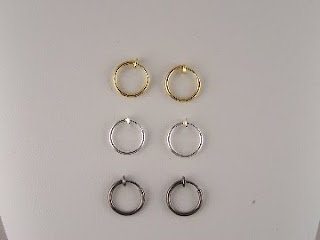 http://www.thecliponearringstore.com/three-pack-small-snap-on-hoop-clip-on-earrings.html