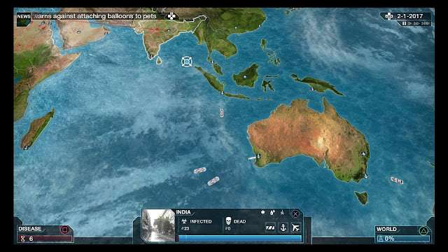 Plague Inc. on PlayStation 4