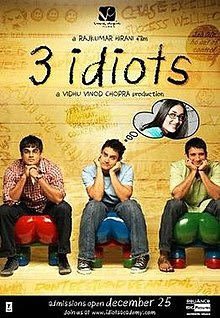 3 Idiots (2009) movie download in HD 720p