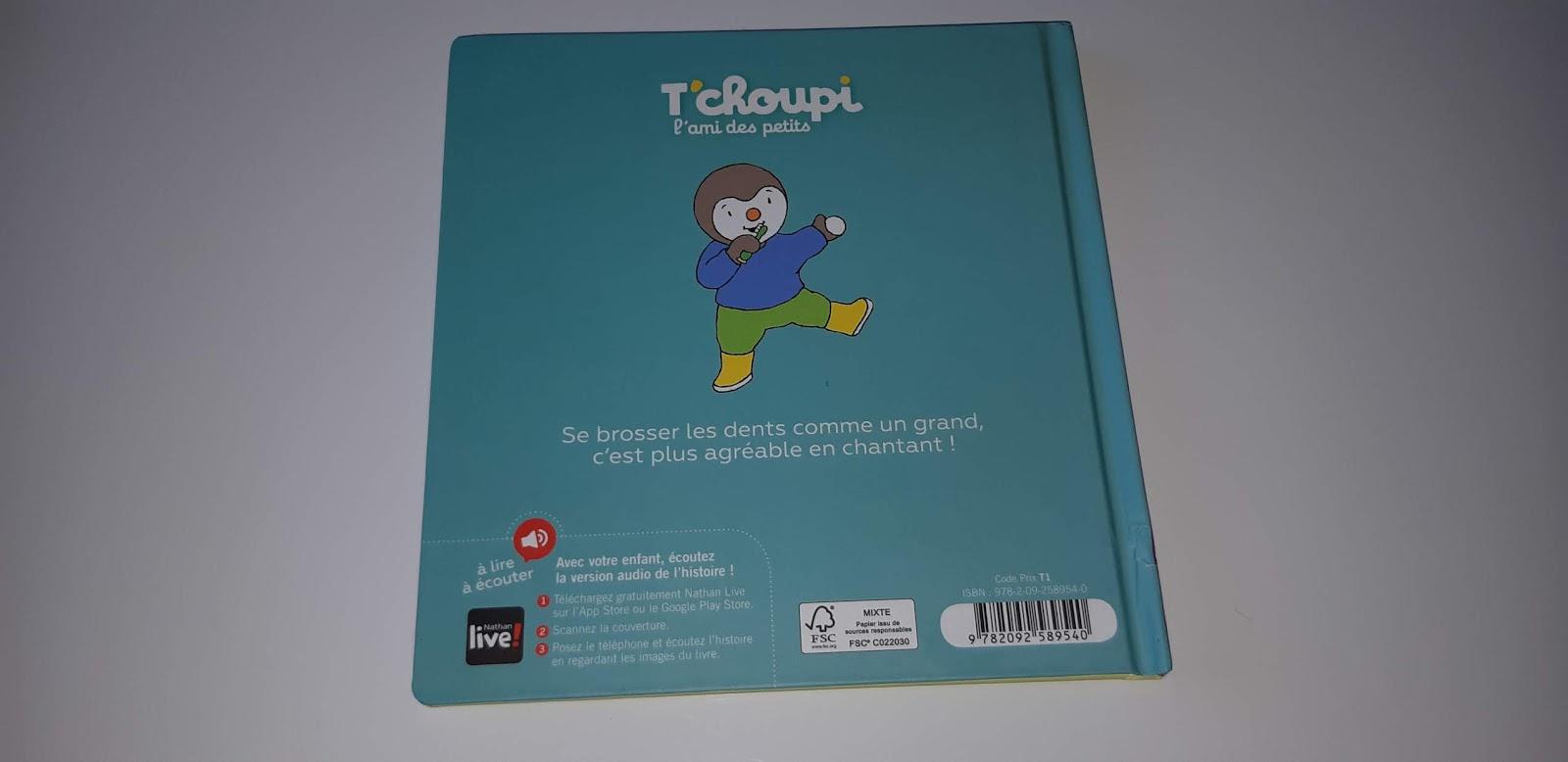Passion Livres Tchoupi Se Brosse Les Dents