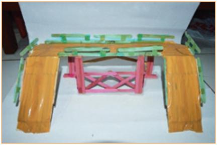 Langkah-Langkah Kerja Pembuatan Miniatur Jembatan 5