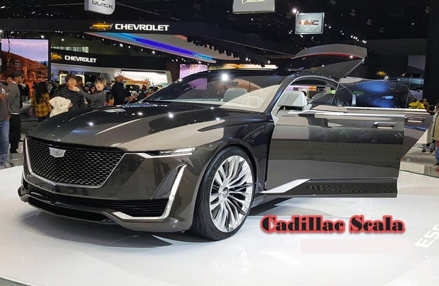 2017 Cadillac La Scala new symbol of elegance