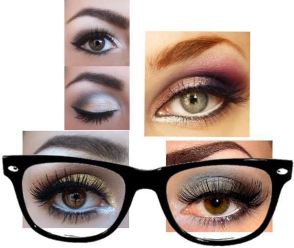 Como maquillar ojos miopes
