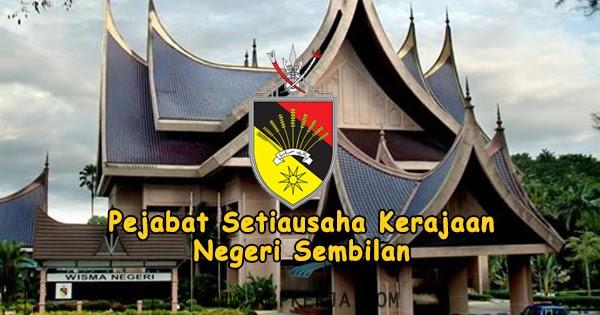 Jawatan Kosong Pejabat Setiausaha Kerajaan Negeri Sembilan Tarikh Tutup 21 April 2019 Ejobskini Com Portal Jawatan Kosong Kerajaan Dan Swasta