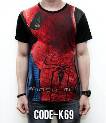 Kaos Spider Man