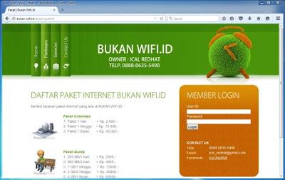 Halaman Login Radius Hotspot Server Mikrotik SandroidTeam