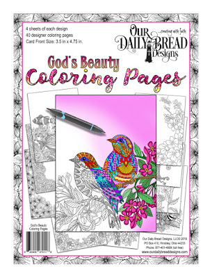 God's Beauty Coloring Pages