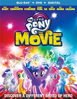 DVD & Blu-ray Release Report, Ralph Tribbey, My Little Pony: The Movie