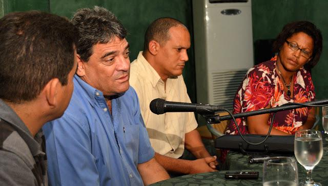 Encuentro con Ernesto Reinoso primer secretario del PCC en la Isla de la Juventud