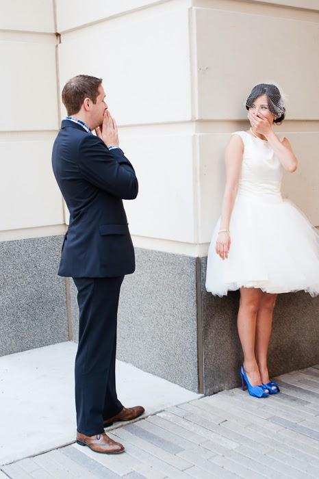 El 'first look': el momento más romántico