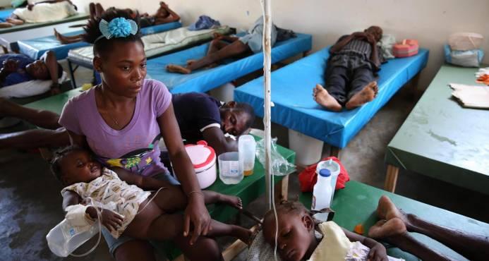 En 2018 es posible que se elimine el cólera en Haití