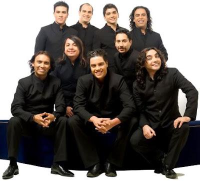 Foto de la banda La Noche vestidos de negro