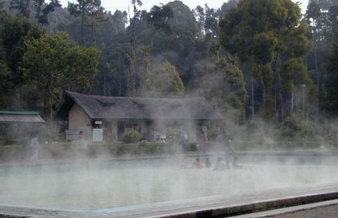 Tempat Wisata Wonosobo - Pemandian Kalianget