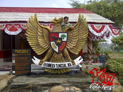 gambar Patung Garuda Pancasila dan sejarah lahirnya Pancasila