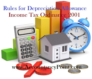 Rules for Depreciation Allowance under Income Tax Ordinance 2001