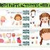 BODY PARTS - WEEK 6 ACTIVITIES