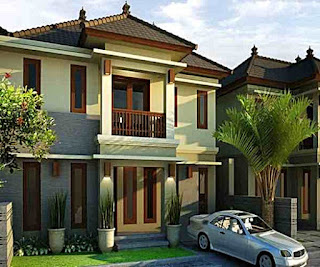 picture of minimalist 2-storey house design - Lampung interior house