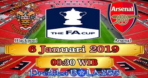 Prediksi Bola855 Blackpool vs Arsenal 6 Januari 2019