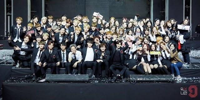 Internautas enojados con YG Entertainment por su tratamiento de los concursantes 'MIXNINE'