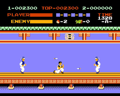 Videojuego Kung-Fu Master
