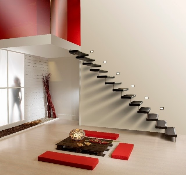 Lighting Basement Washroom Stairs: Latest Modern Stairs Designs Ideas Catalog 2019