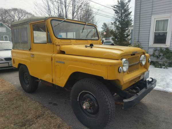 Unique 4x4, 1963 Nissan Patrol 60