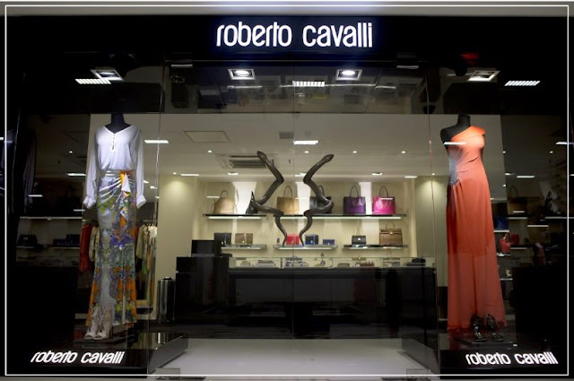 Roberto Cavalli na SAX Department