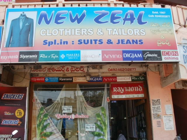 New Zeal Mens Tailors
