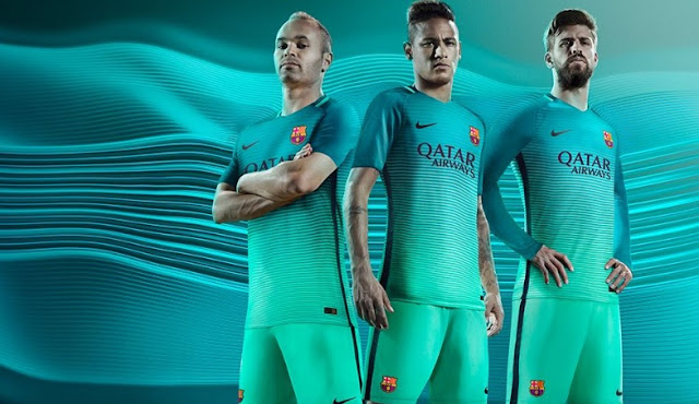 Barcelona 2016-17 Third Jersey Online Purchase