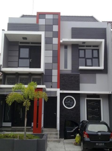 rumah minimalis 2 lantai type 21-60