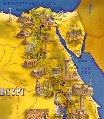 Ancient Egypt Maps For Kids And Students Ancient Egypt Facts