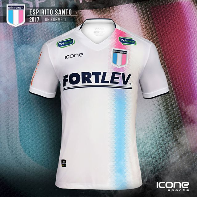 ad93276713 Ícone Sports lança a nova camisa titular do Espírito Santo - Show de Camisas