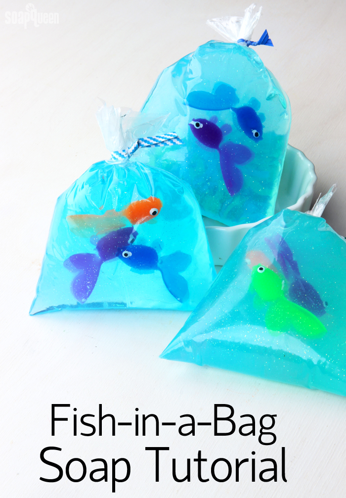 Making scentz aka homemade bath products fish in a bag for Fish in a bag