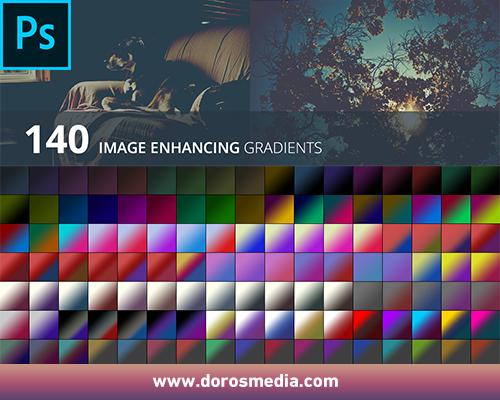 تدرجات لونية إحترافية  Image-enhancing-gradients لتحسين الصور في برنامج الأدوبي فوتوشوب